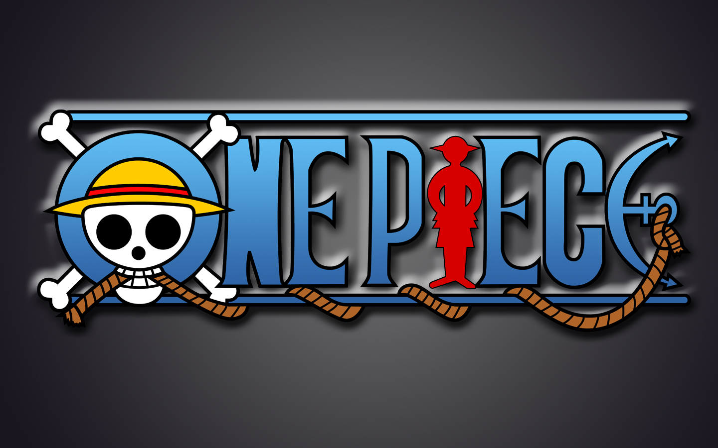 One Piece Logo Wallpaper Background Wallpapers Collection 1440x900