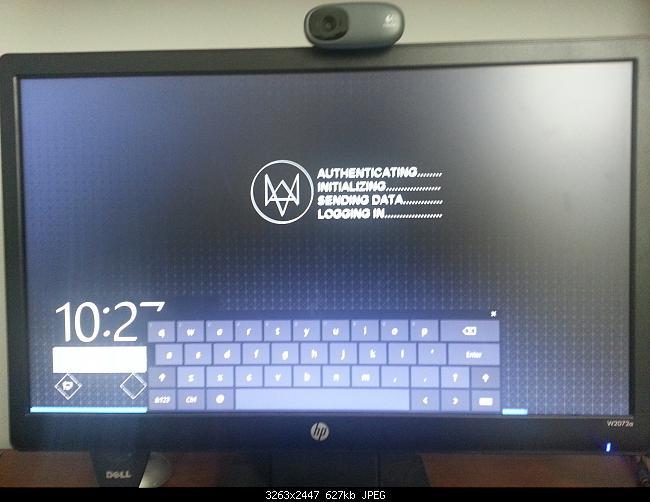 On Screen Keyboard on Lock Screen 650x502