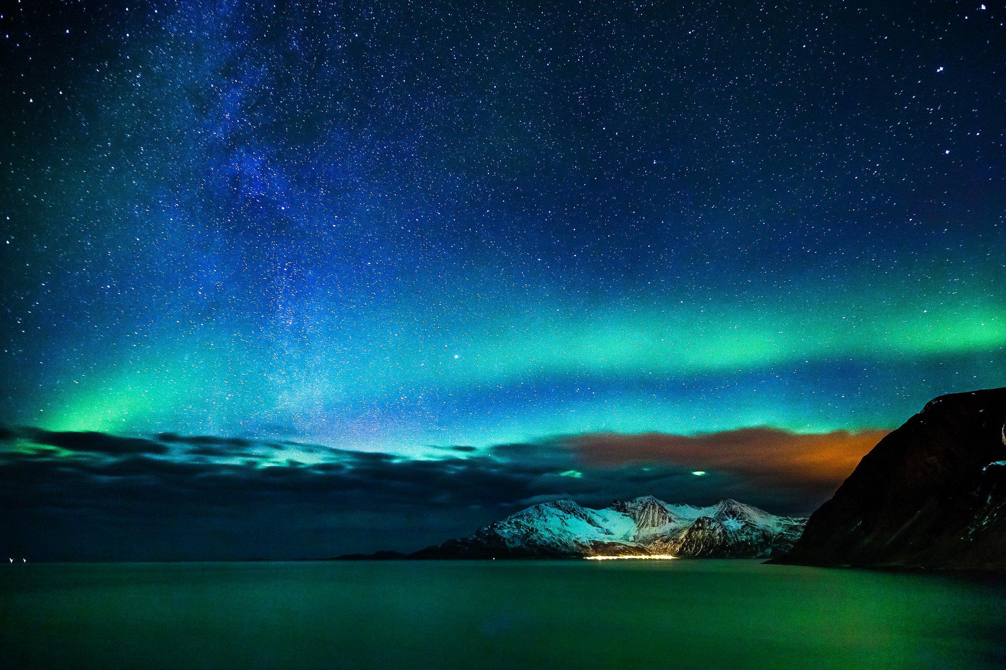 alaska night wallpaper - photo #16