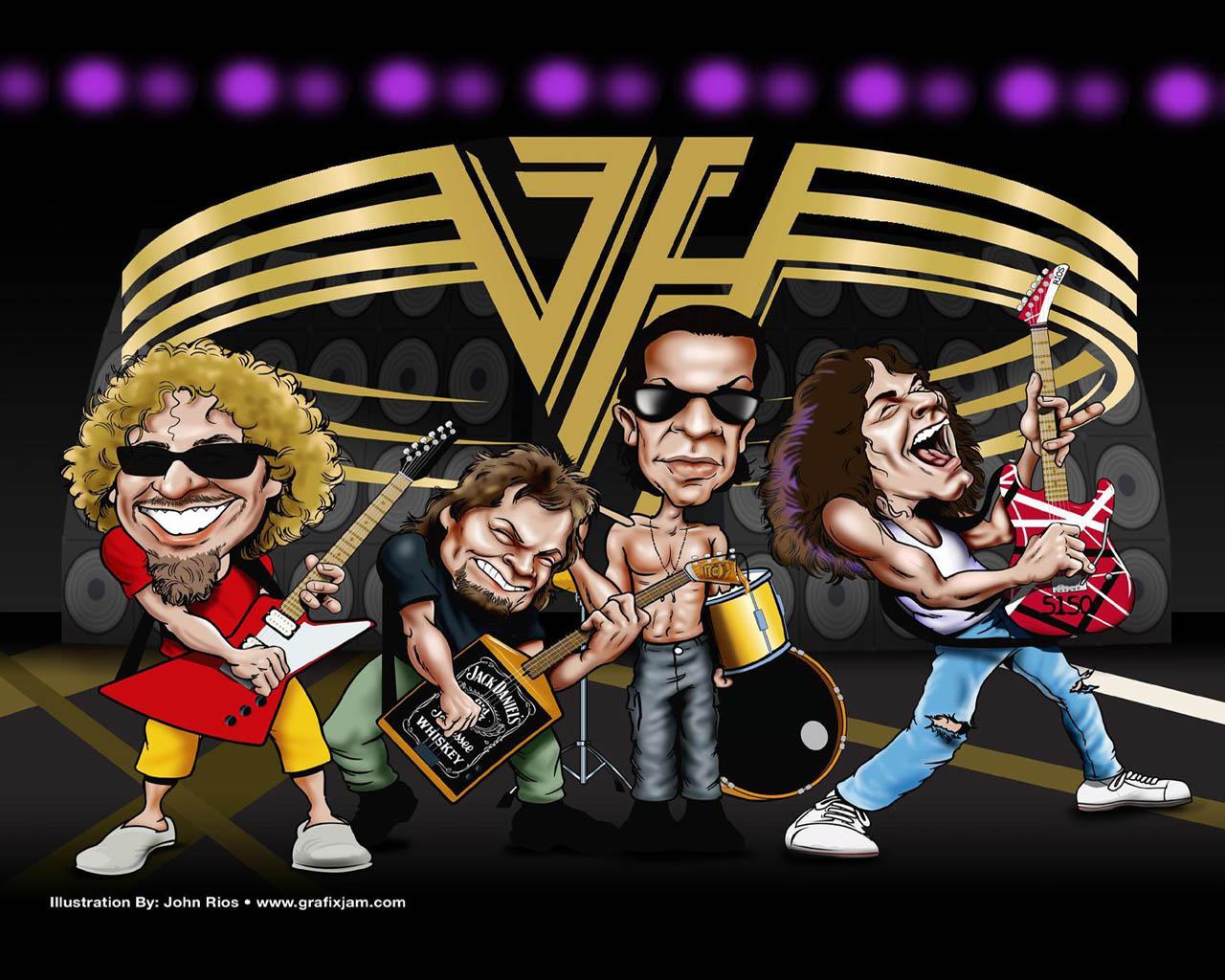 Van Halen Olho Nu Desktop Stuff 1280x1024