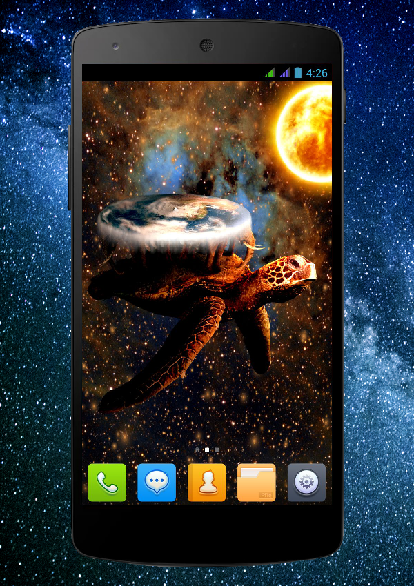 FREE] DiscWorld Live Wallpaper AndroidPIT Forum 600x850