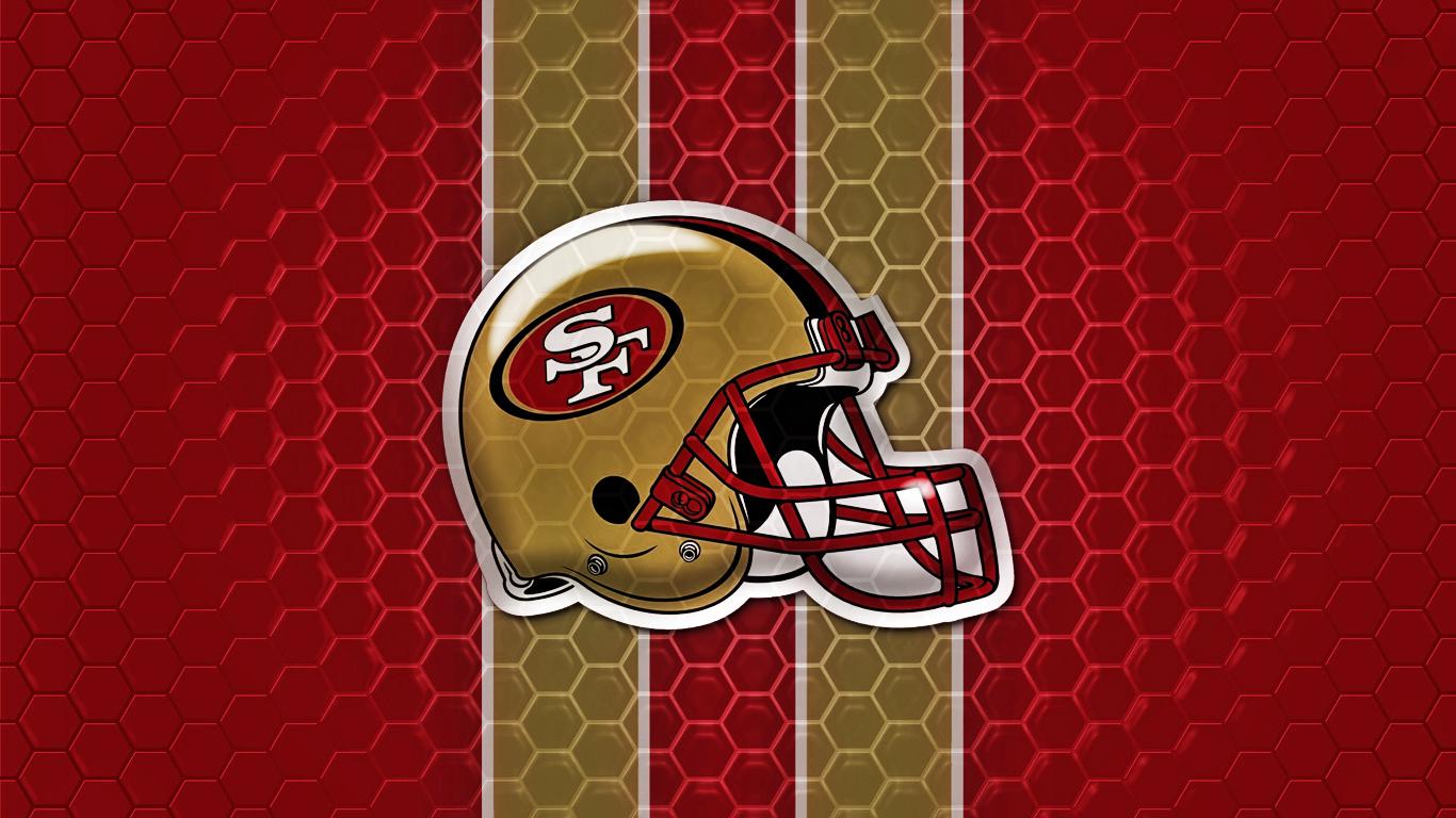 49ers Faithful Wallpaper 49ers wallpaper by ideal27 on deviantart 1366x768