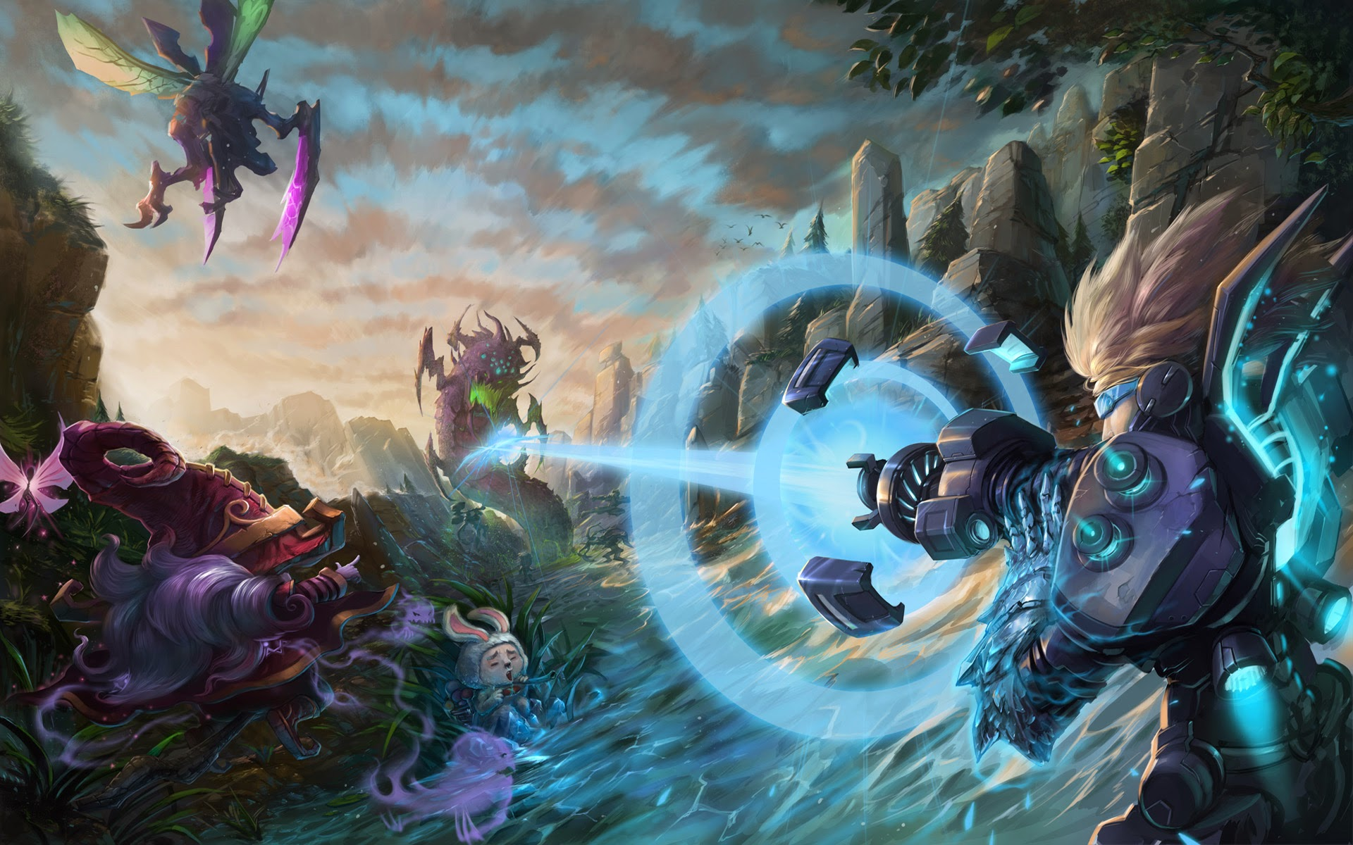 League of Legends Champion Clash HD Wallpaper Full Size Download 1920x1200