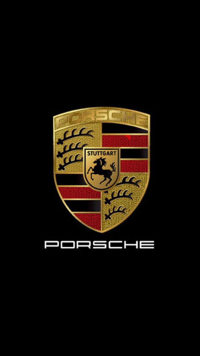 Porsche Logo Wallpaper 640x1136