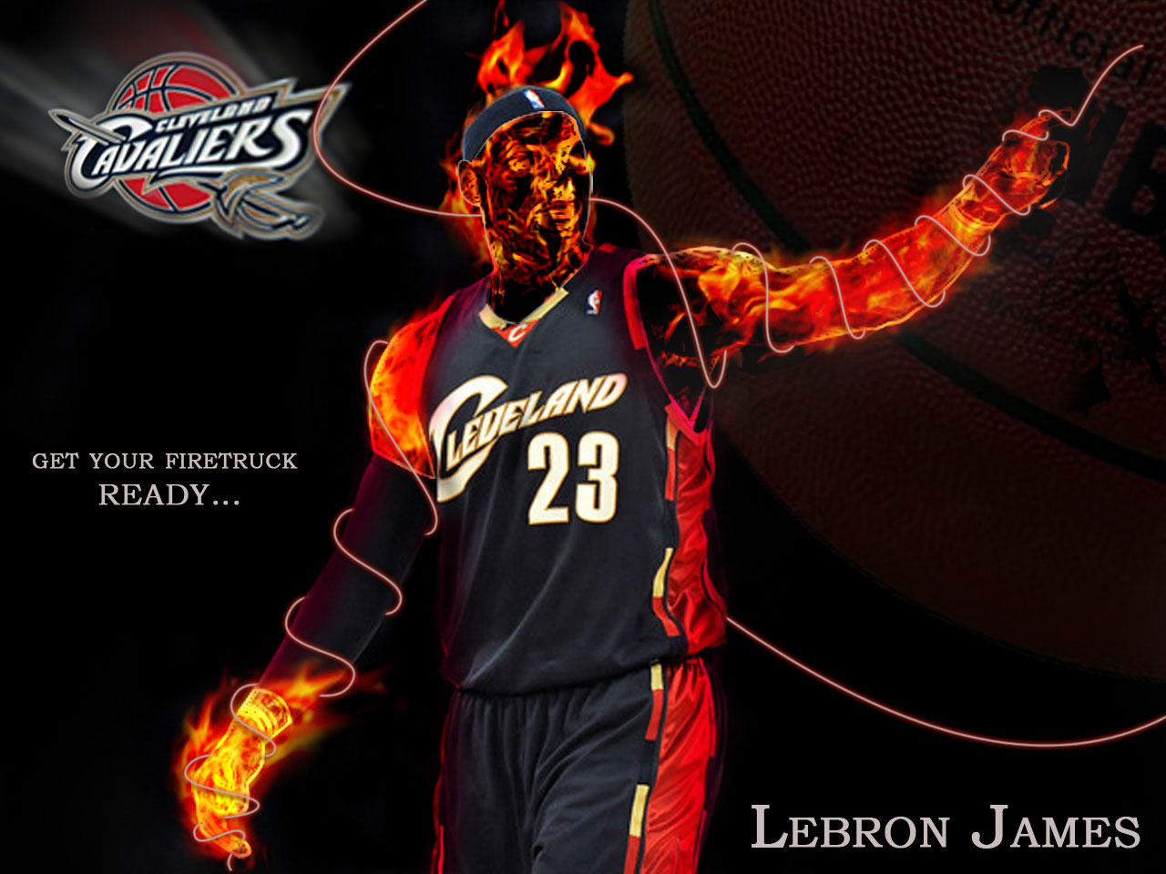 LeBron James Cleveland Wallpaper Wallpapers 1280x960