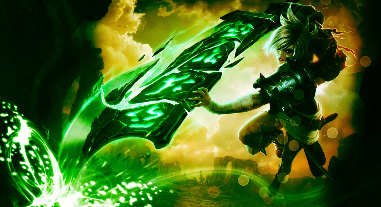 Riven Wallpaper NEW Splash Art Edit By TheLtColonel 1210x660