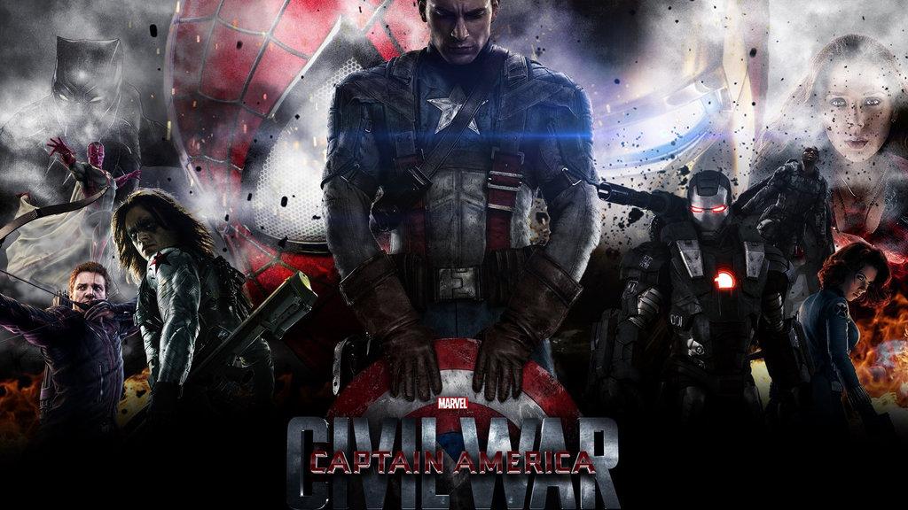 Captain America Civil War by iMakeRandomArt 1024x576