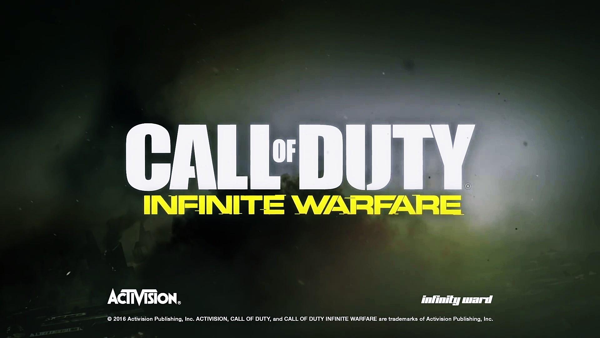 download Call of Duty Infinite Warfare Logo Wallpaper 00081 1920x1080