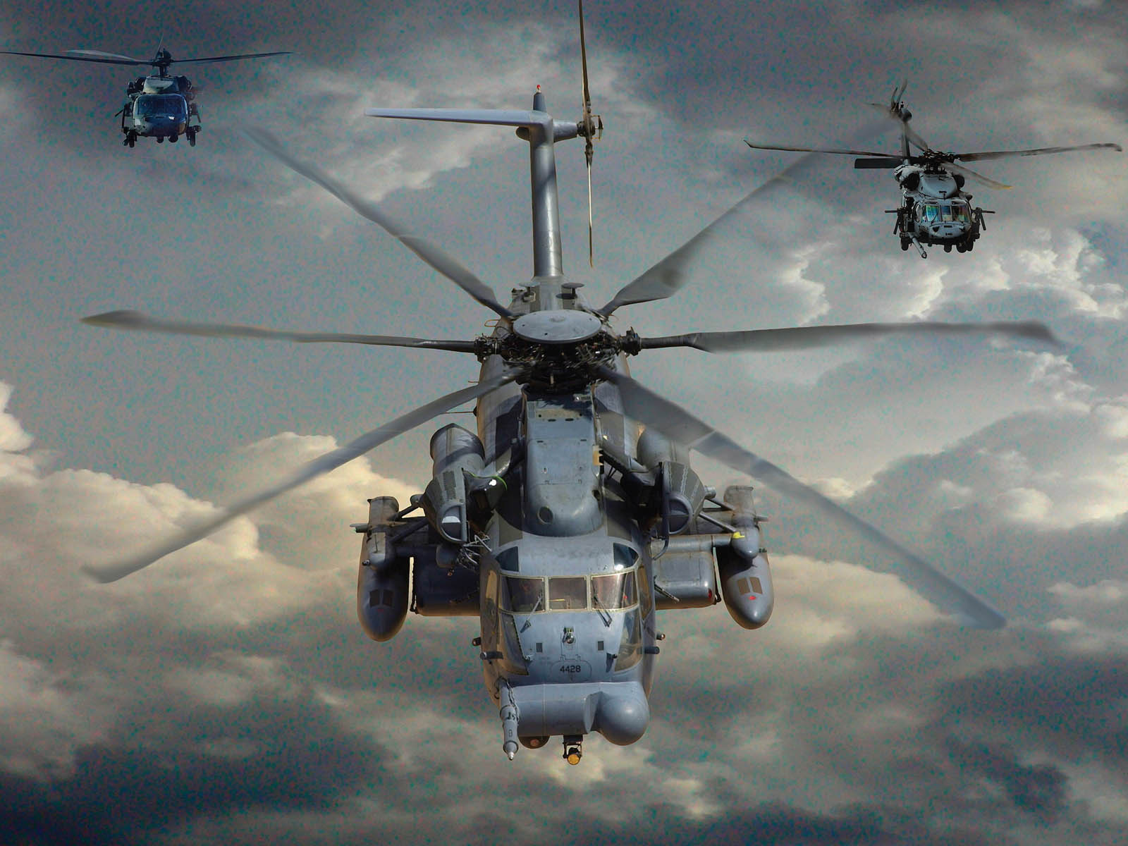 wallpapers mh 53 Pave Low Helicopter Wallpapers 1600x1200