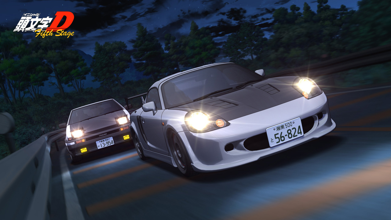 World   Discussion Board Forums   Initial D Fifth Stage Wallpapers 1280x720
