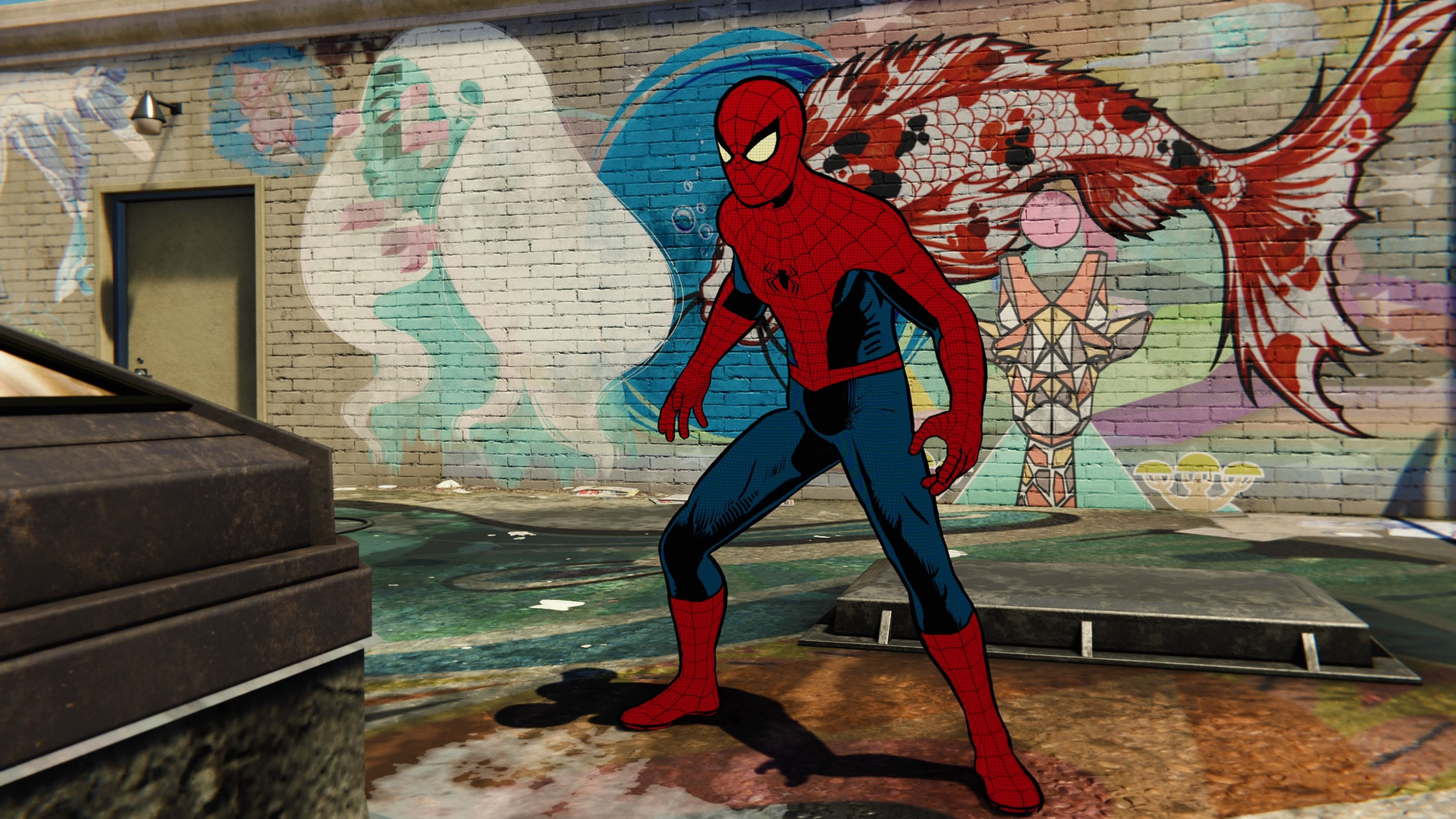 Spider Man The Origins of Every Costume in the PS4 Game   IGN 3840x2160