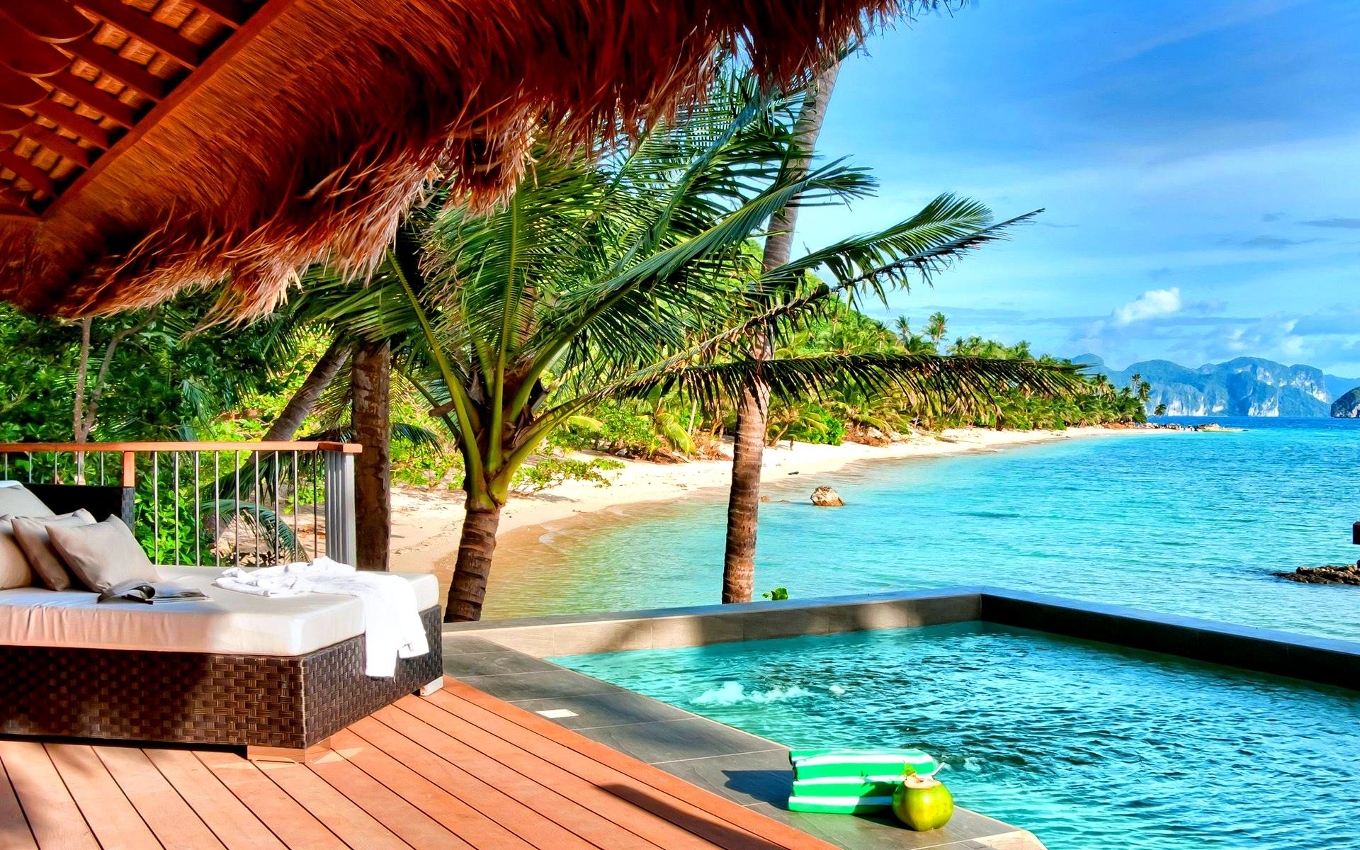 Tropical Resort HD Wallpaper 2210 1920x1200
