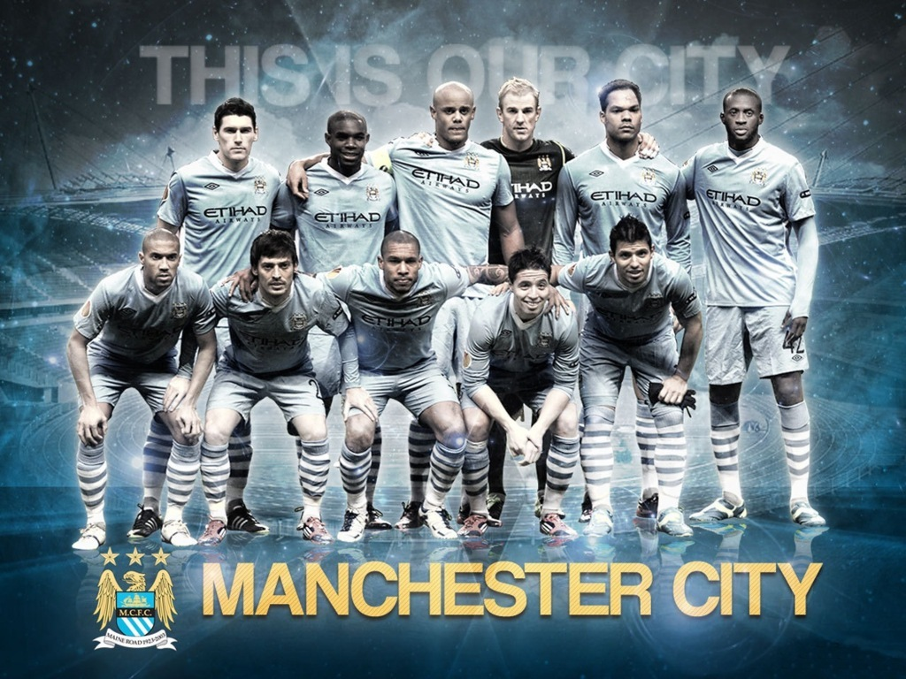 Free Manchester City Team Squad 2013 2014 Wallpaper