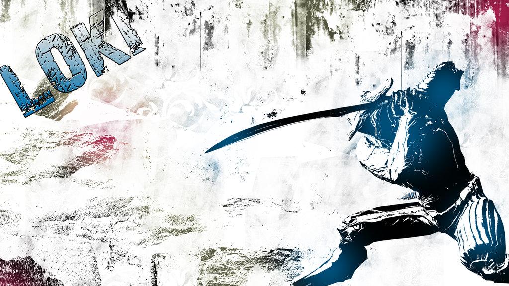 Warframe Loki by The white shepard 1024x576