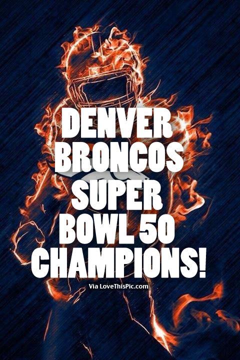 Denver Broncos Super Bowl 50 Champions Pictures Photos and Images 480x720