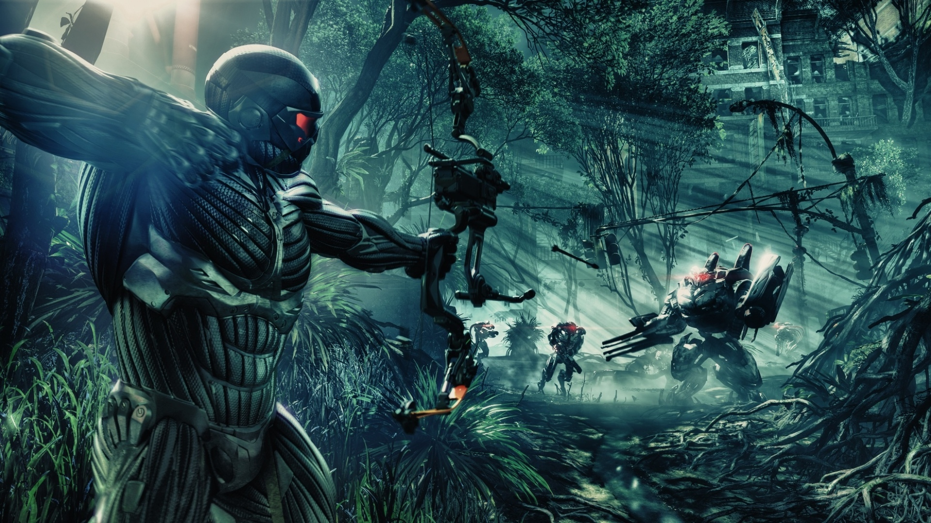 Crysis 3 2013 Video Game 4k Hd Desktop Wallpaper For 4k: Crysis Wallpaper