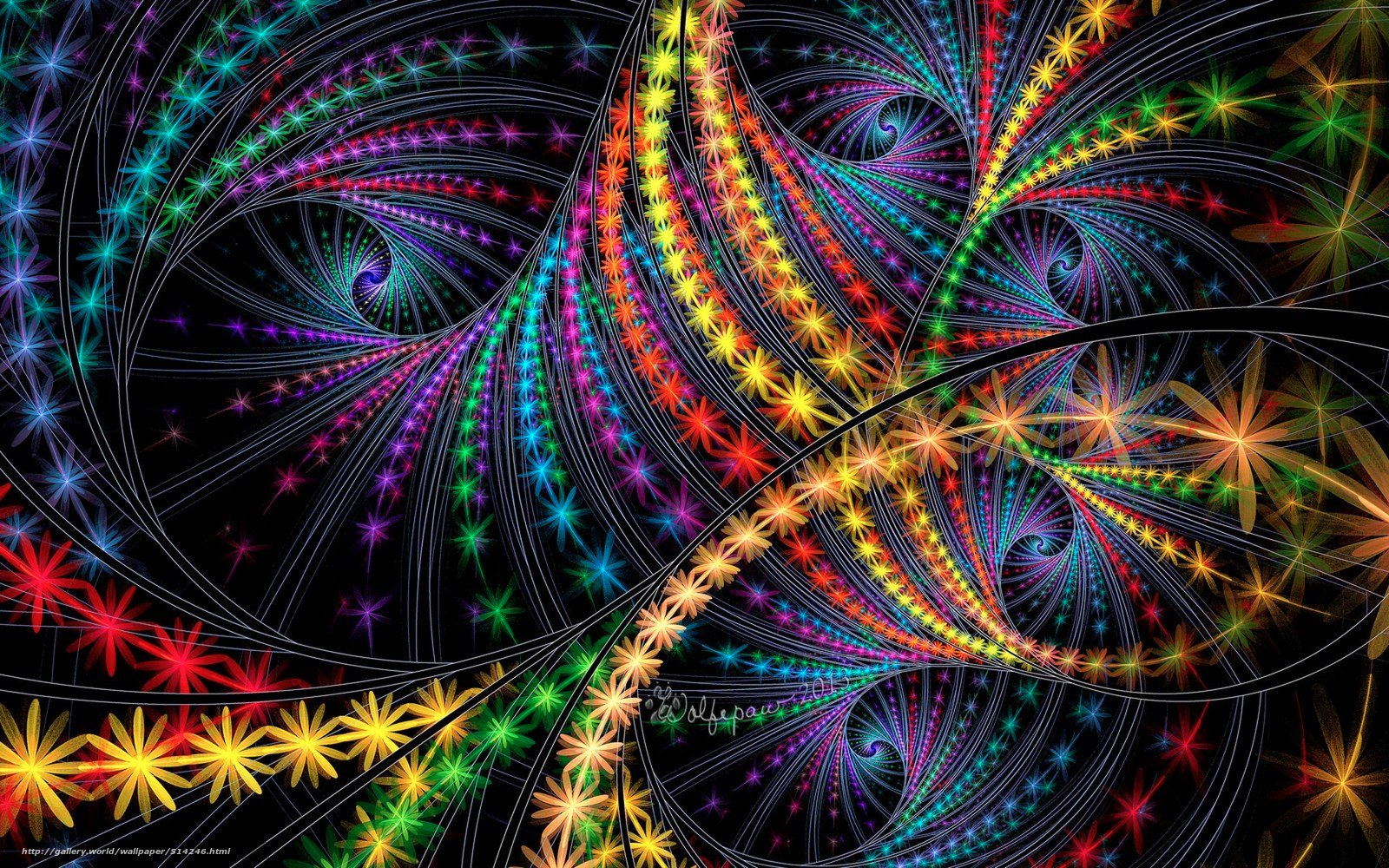 3d Fractal Wallpaper Wallpapersafari