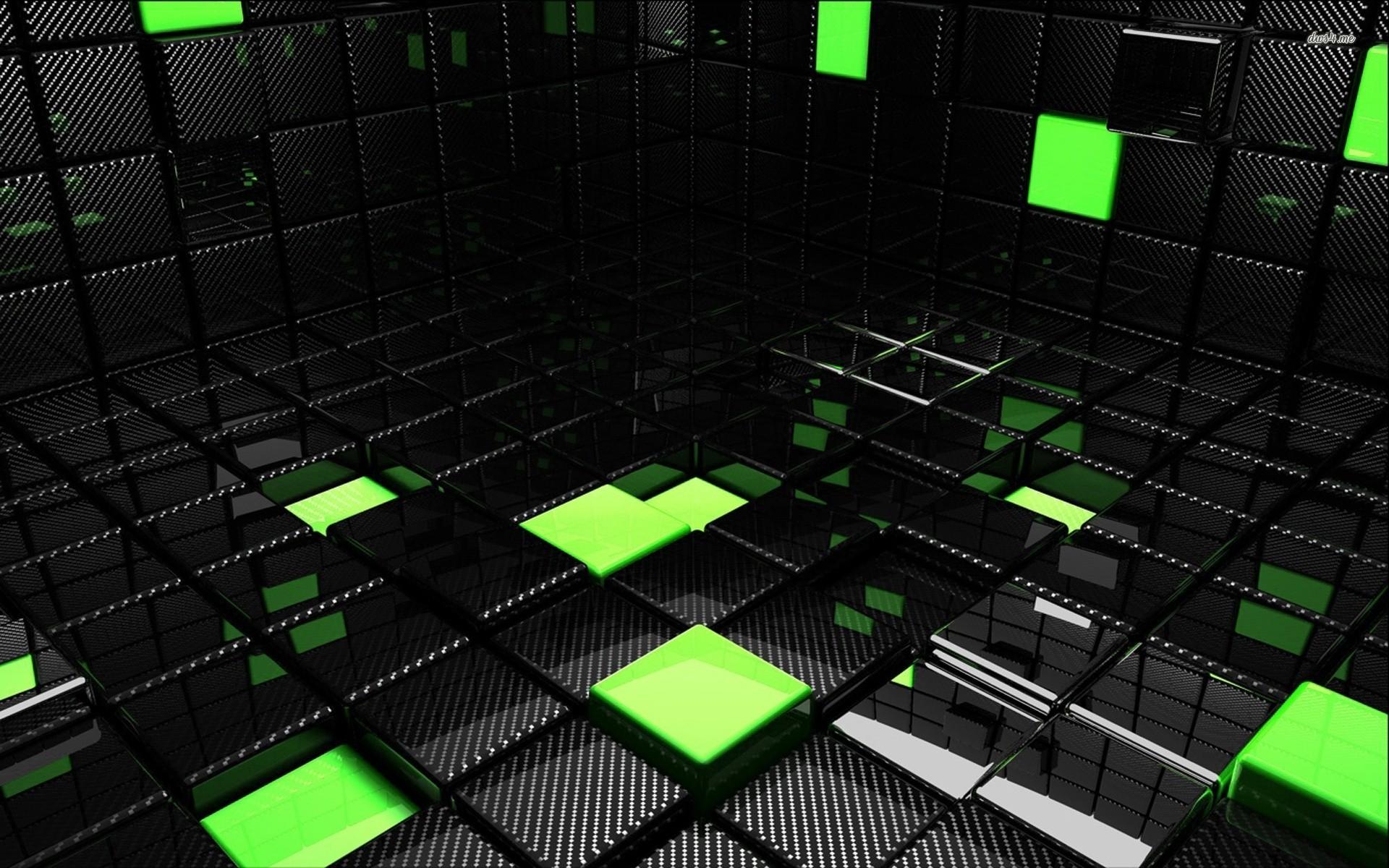 Cube room wallpaper   3D wallpapers   12004 1920x1200