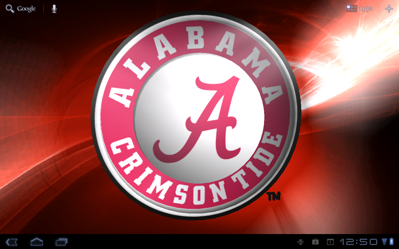 Alabama Crimson Tide LWP Tone   Android Apps on Google Play 1280x800