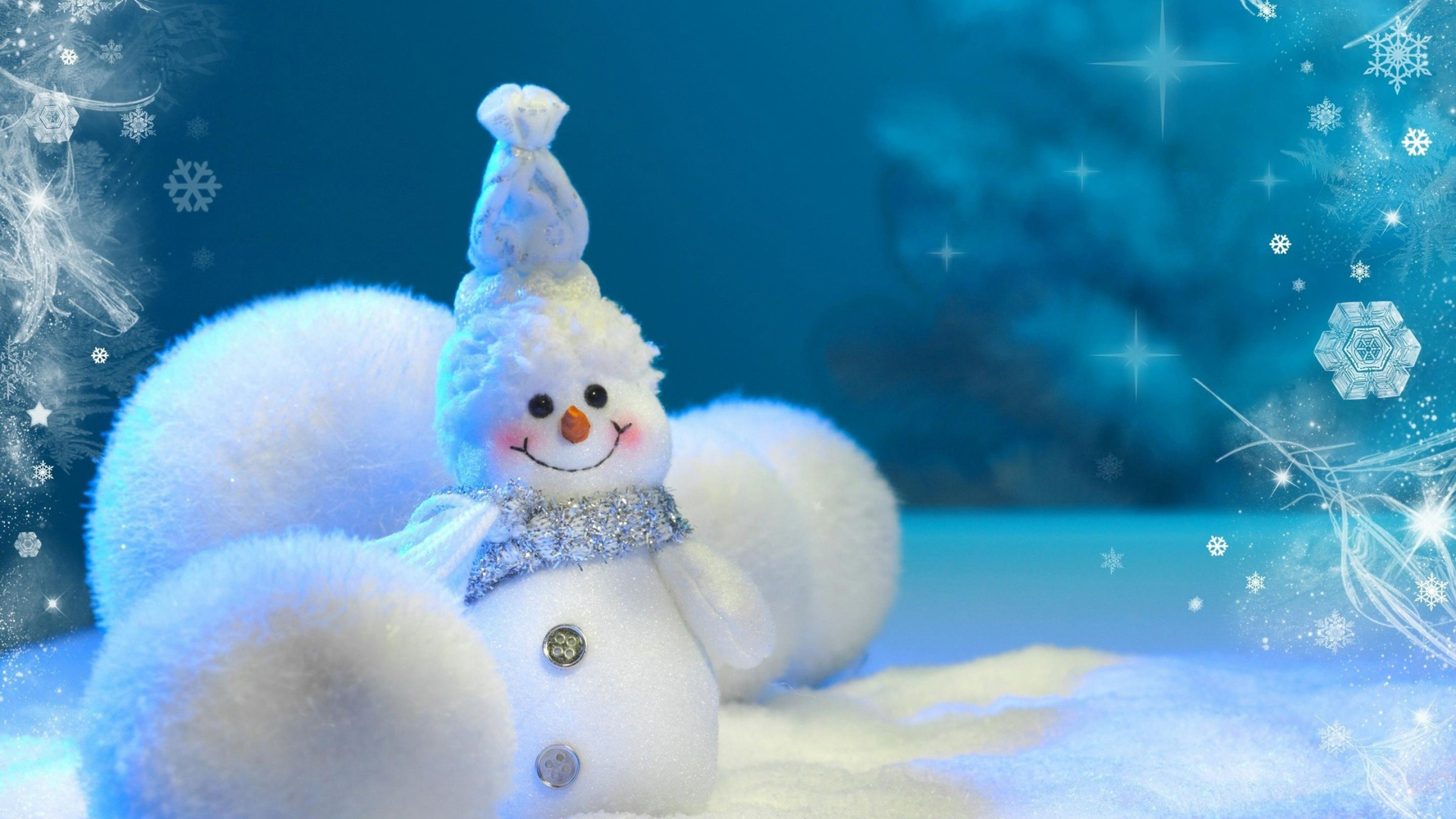 Download Wallpaper Cute Snowman high definition wallpaper 1080p 1920x1080