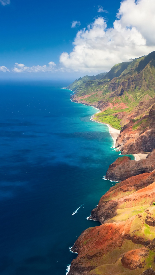 Hawaii Beach iPhone 5s Wallpaper Download iPhone Wallpapers iPad 640x1136