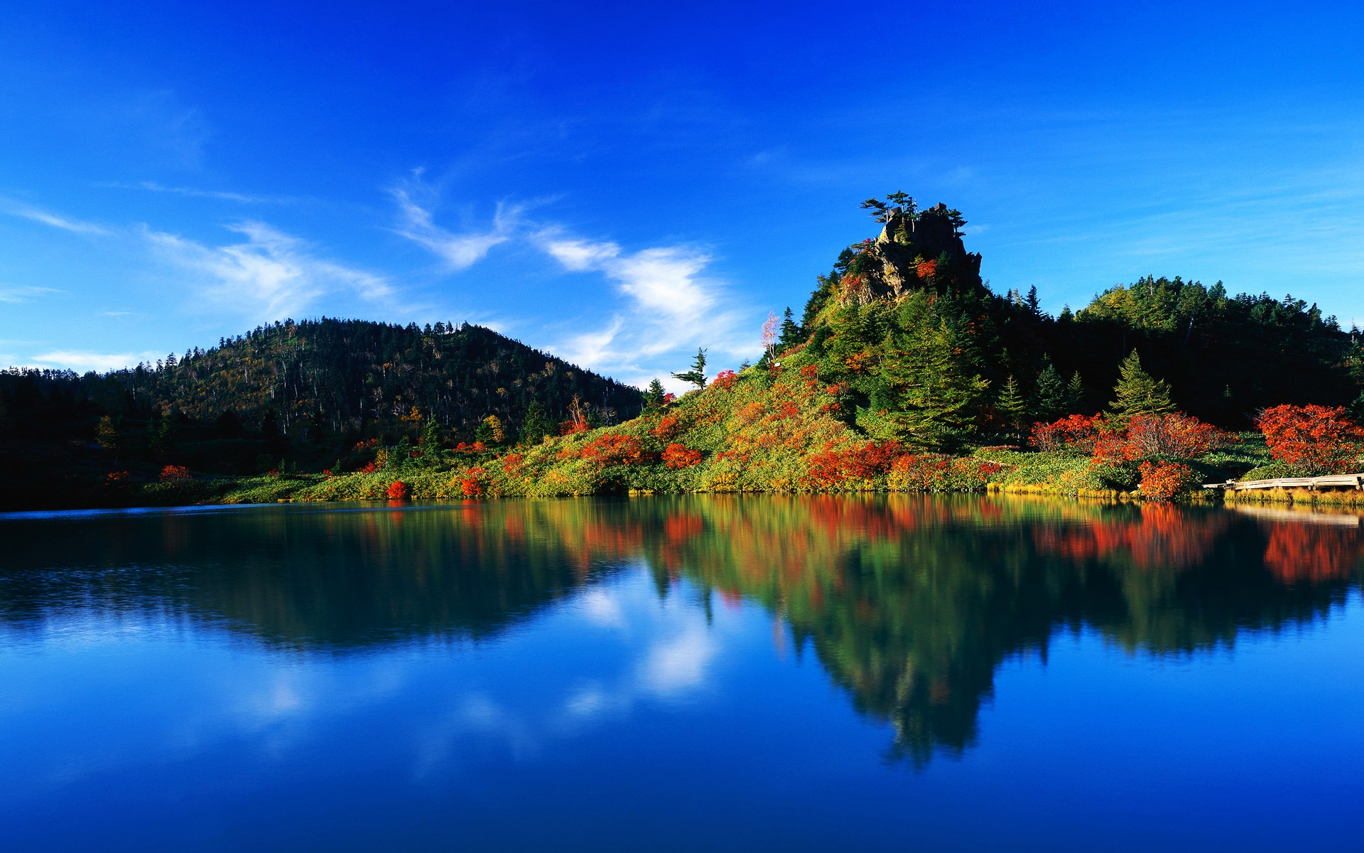 Autumn Reflection Japan Wallpapers HD Wallpapers 1920x1200