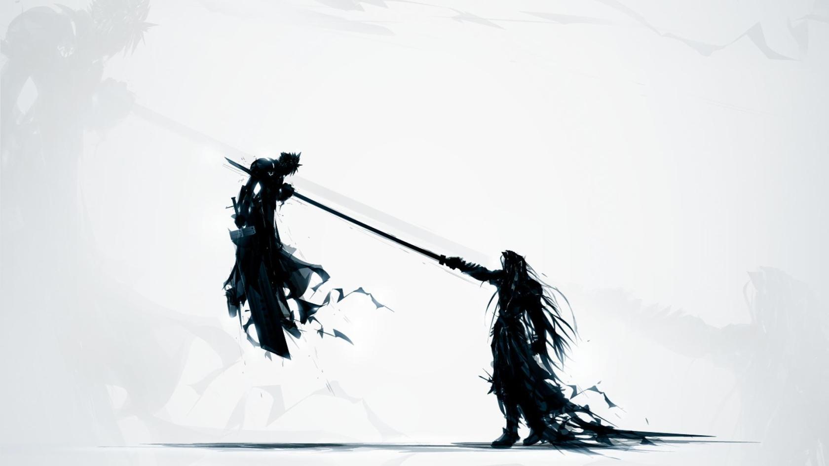 Cloud vs Sephiroth Final Fantasy VII Wallpapers Wallpapers 1680x945