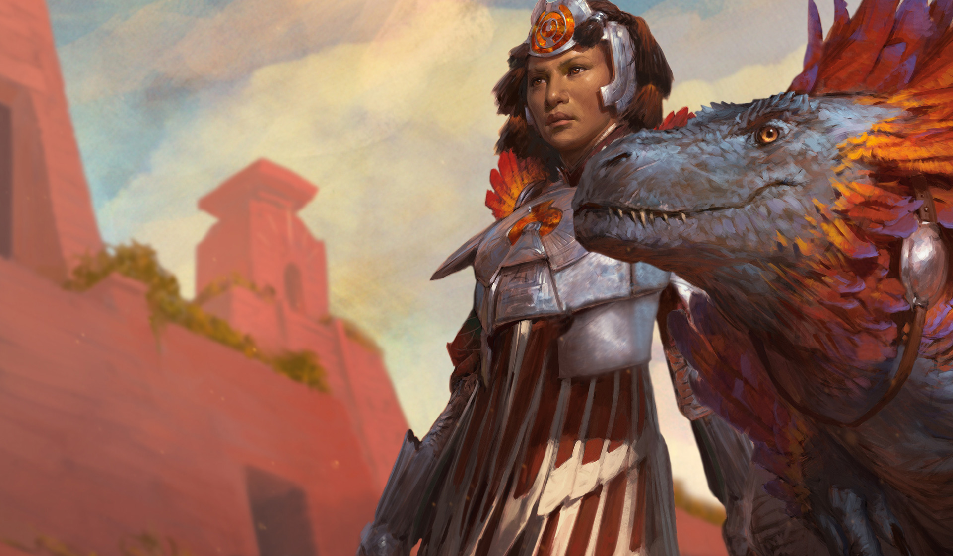 Huatli   PLANESWALKERS MAGIC THE GATHERING 1920x1120