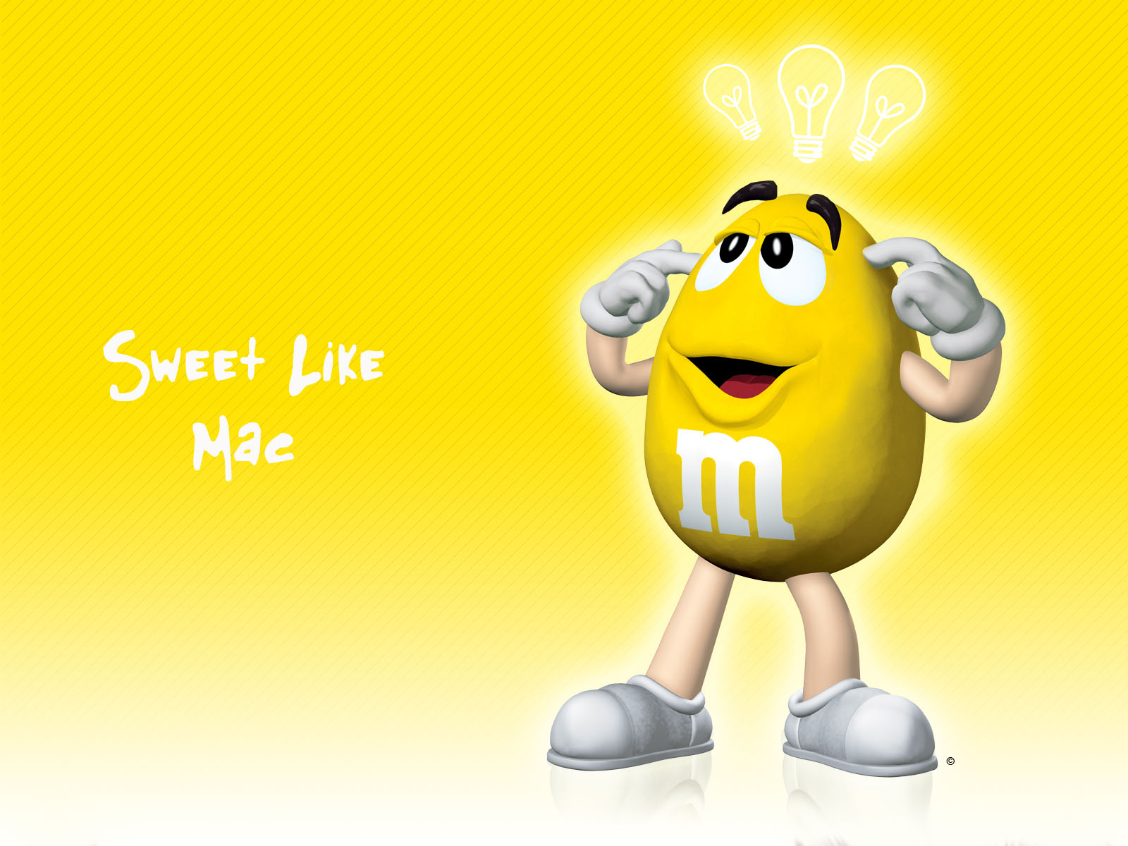 and M Chocolate Sweet Like Apple Mac Background Misc Wallpapers 1600x1200