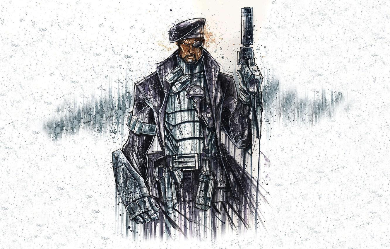 Wallpaper figure agent the leader Nick Fury ORGANIZACIJA 1332x850