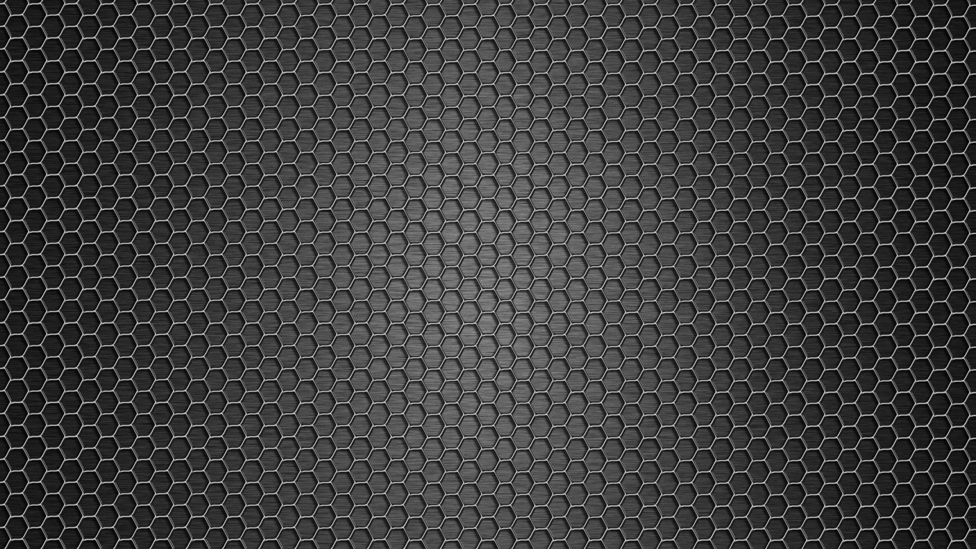 1920x1080 Wallpaper mesh dark background texture metal 1920x1080