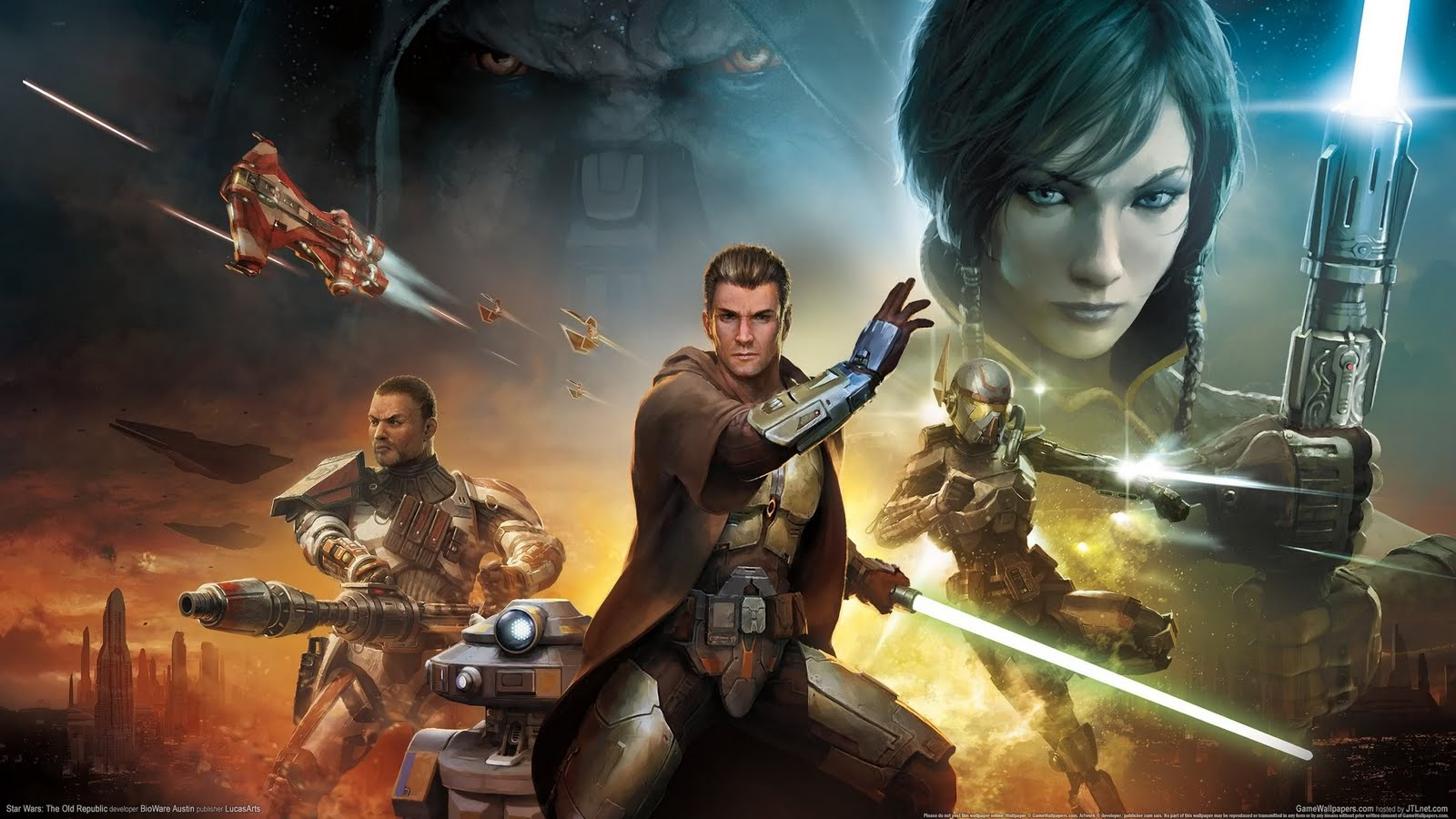 Star Wars The Old Republic The Baloons Life 1600x900