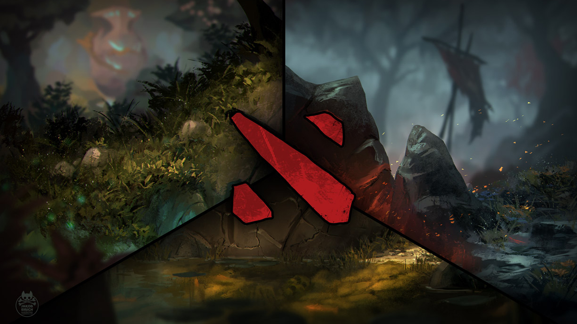 You are currently viewing Dota 2 Logo 1920x1080 0v HD Wallpaper 1920x1080