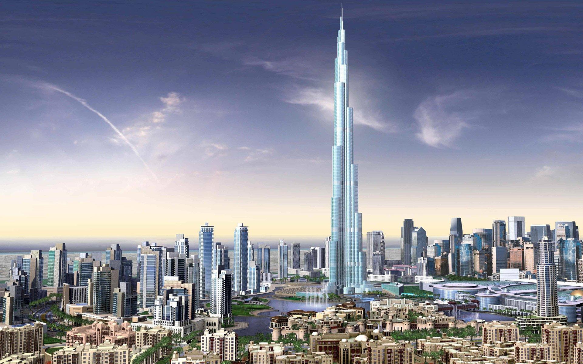 Burj Dubai Skyscrapers UAE Wallpapers HD Wallpapers 1920x1200