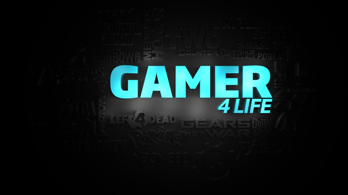Gamer for Life Wallpaper by ChucklesMedia 1191x670