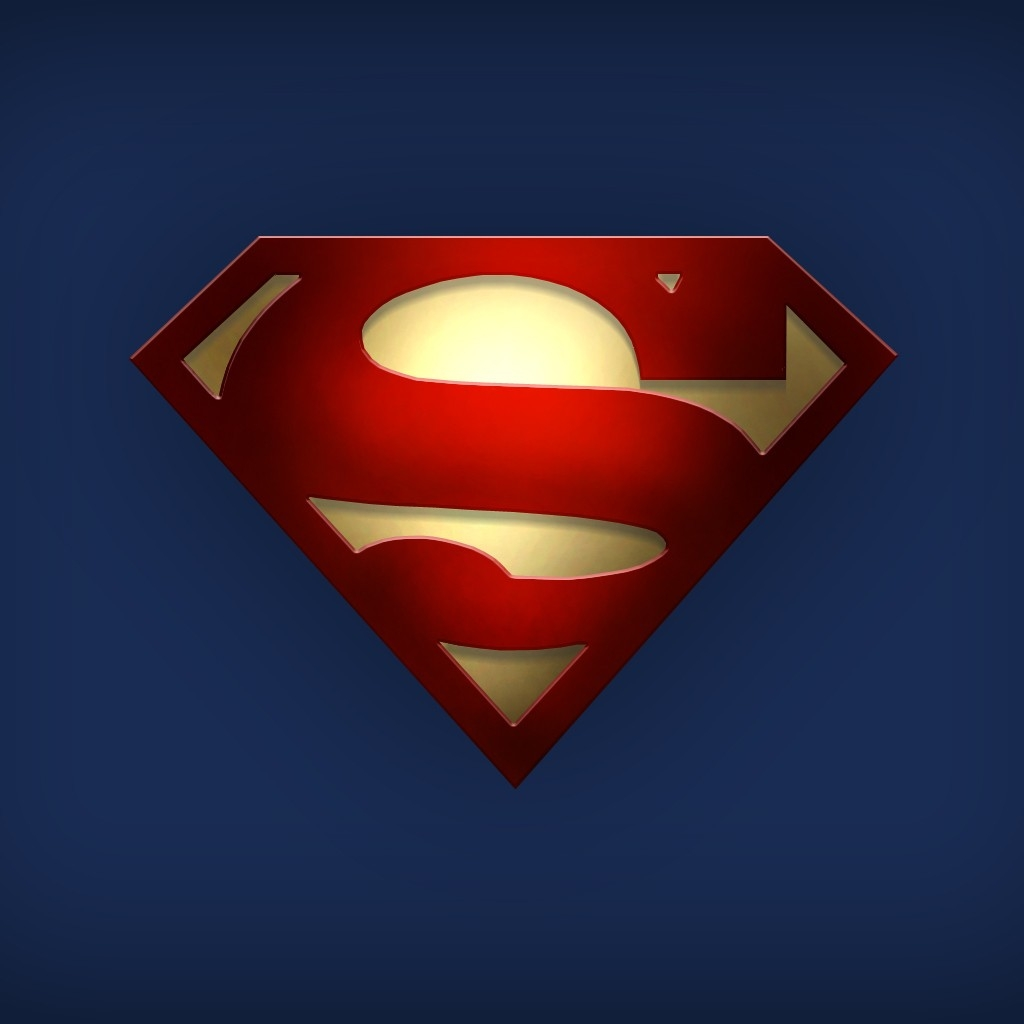 Superman Logo Wallpaper 4333 Hd Wallpapers in Logos   Imagescicom 1024x1024