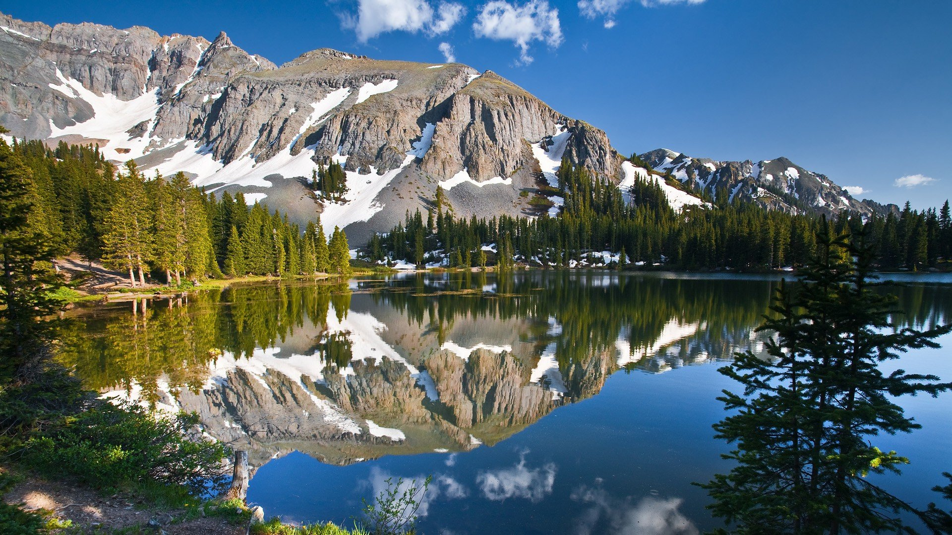 Alta Lake Rocky Mountains 1920x1080 1080p   Wallpaper   ImgPrix 1920x1080