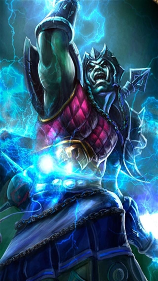 World of Warcraft 3 Game iPhone Wallpapers iPhone 5s4s3G 640x1136