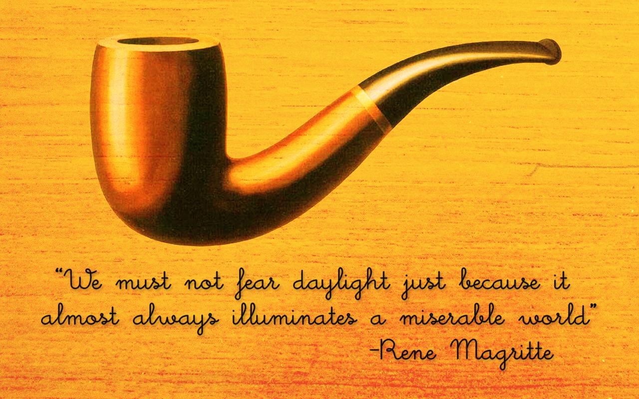 Pics Photos   Rene Magritte Wallpaper Art Painting 1280x800