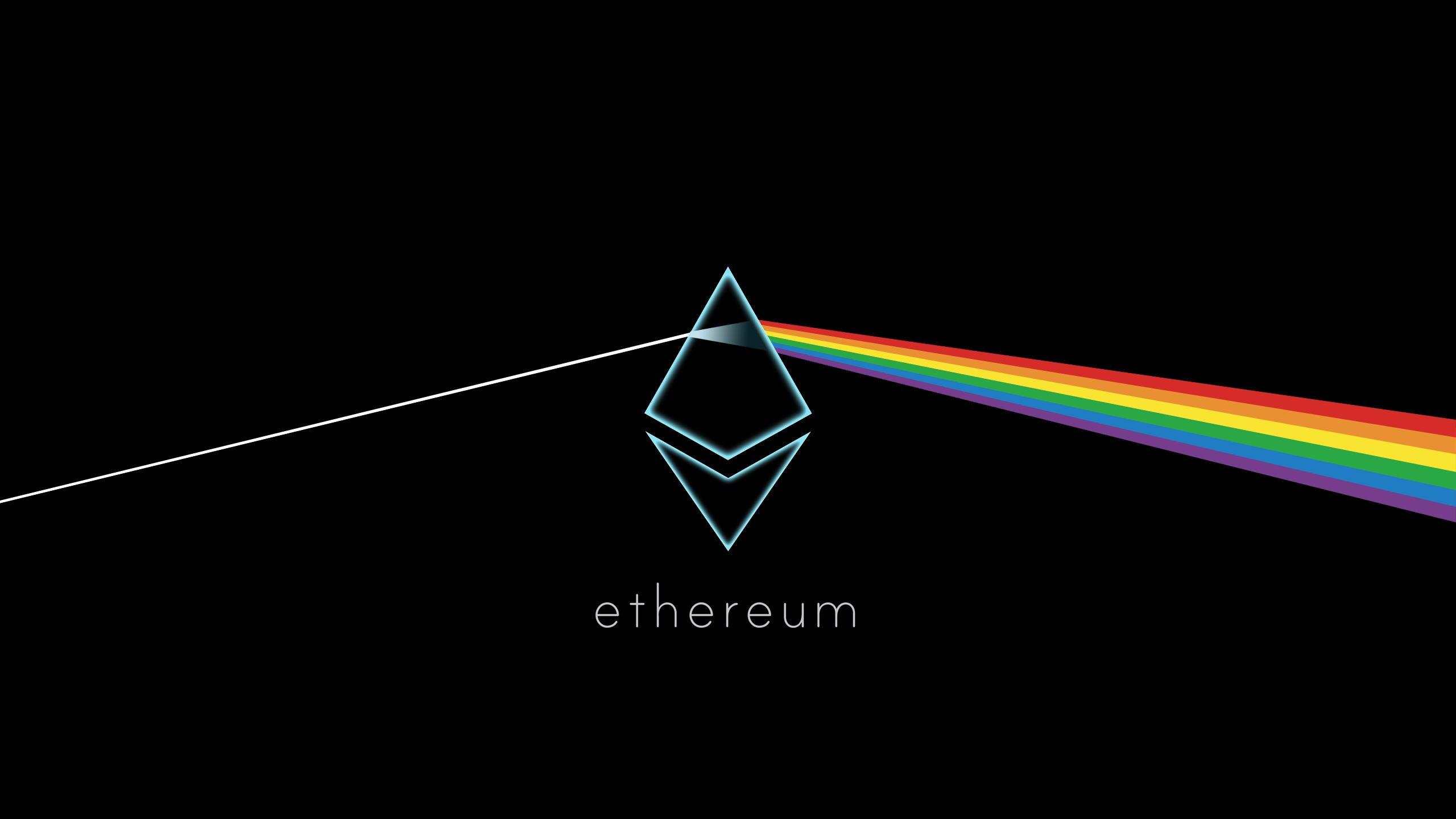 Ethereum background wallpaper image in HD 2560x1440 ethtrader 2560x1440