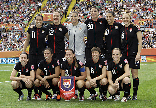 The United States Womens Soccer team 2011 539x373