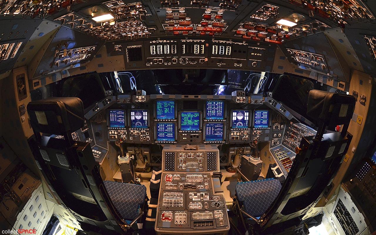 space shuttle cockpit bilder - photo #42