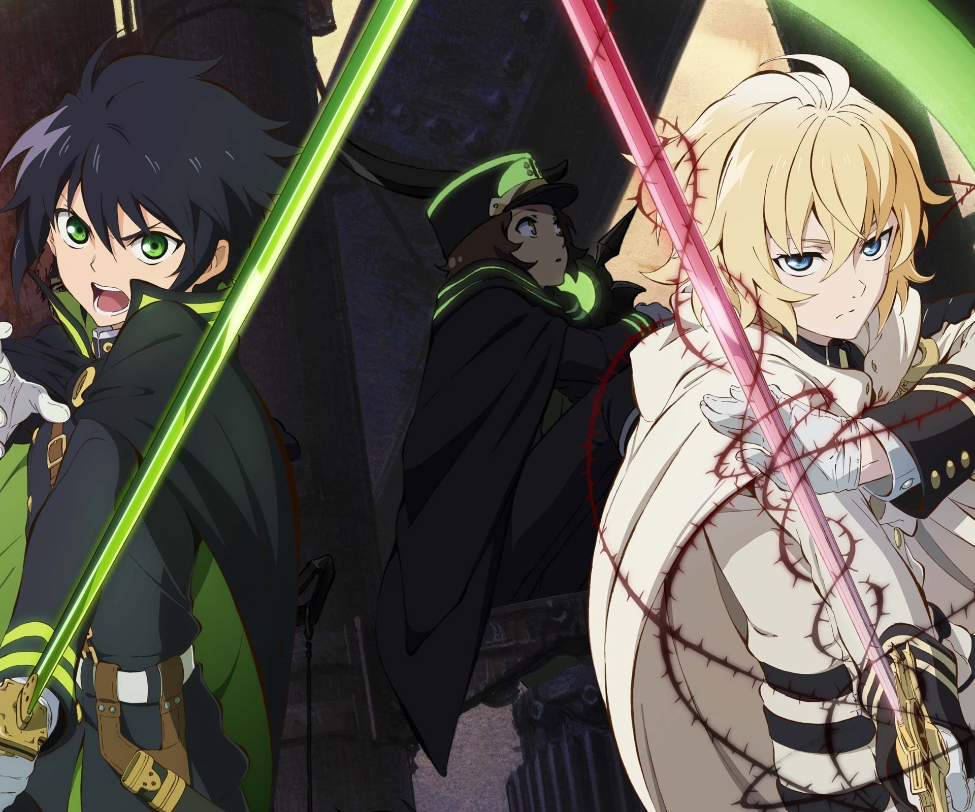 Free Download End Seraph Of The End Vampire Reign Wallpaper