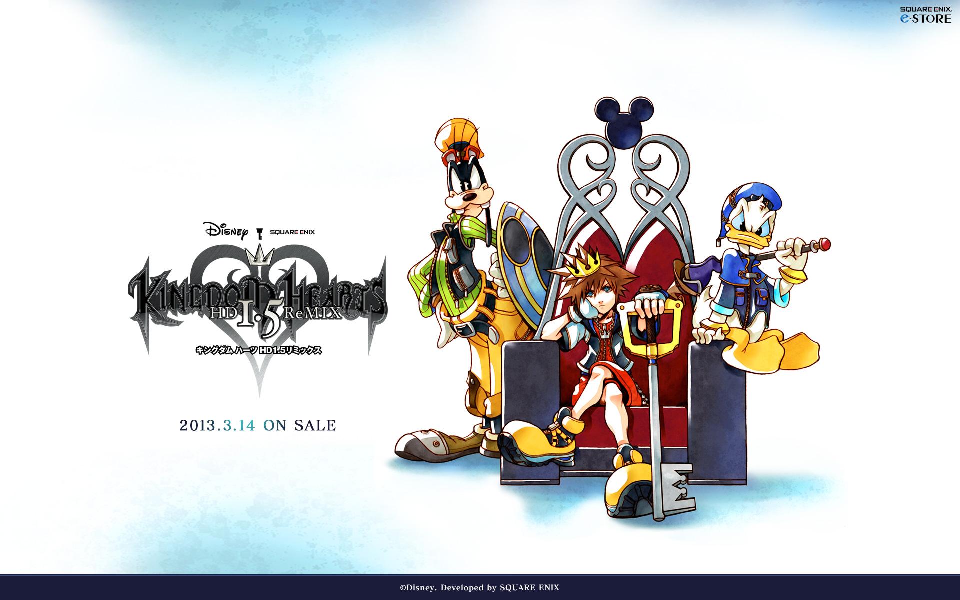 Kingdom Hearts HD 15 ReMix Wallpaper   Kingdom Hearts Ultimania 1920x1200