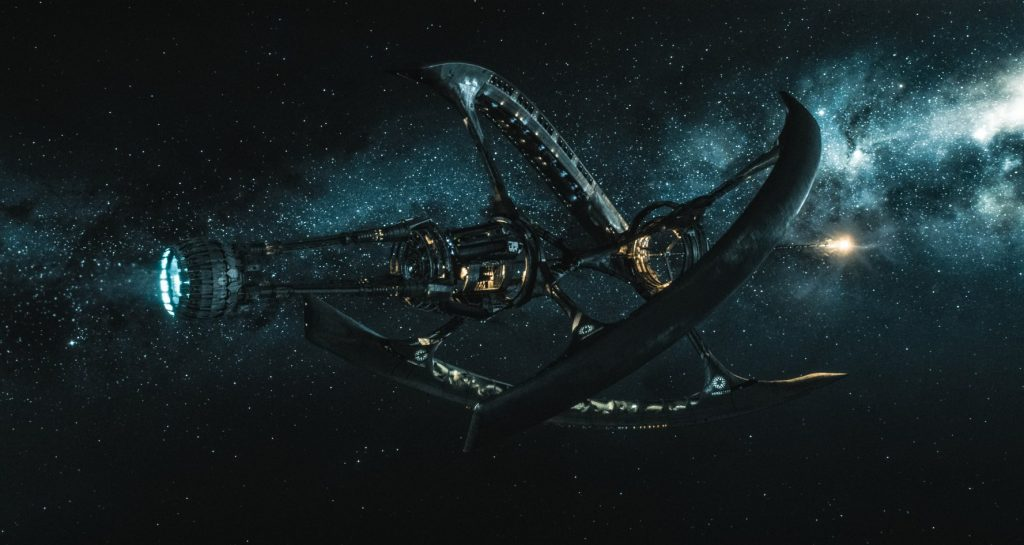 Starship Avalon in Passengers Live HD Wallpapers 1024x545