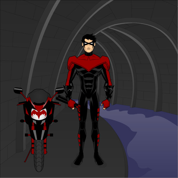 New 52 Nightwing by MicroTraceour 600x600