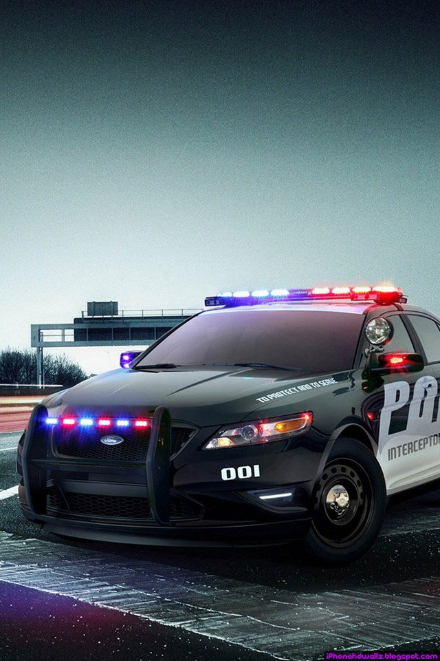 info ford police car cool iphone wallpaper hd is a great wallpaper for 640x960