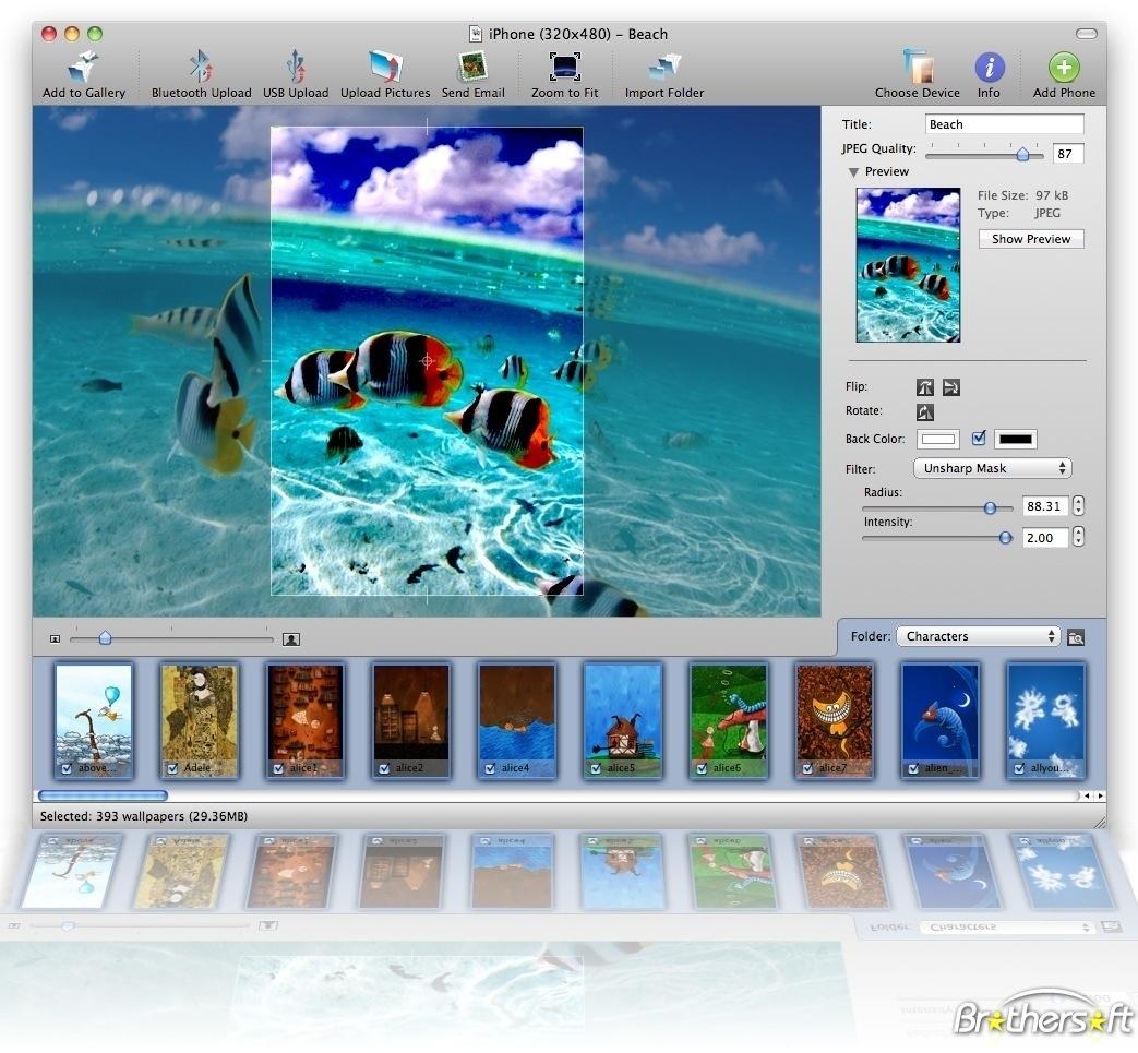 free cell phone wallpaper maker online 1043x965