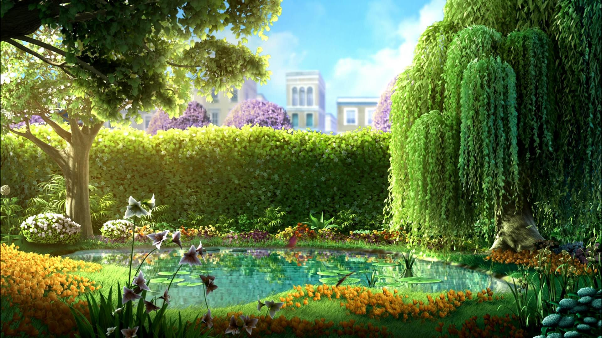 1920X1080 HD Garden WallpaperWallpaperSafari