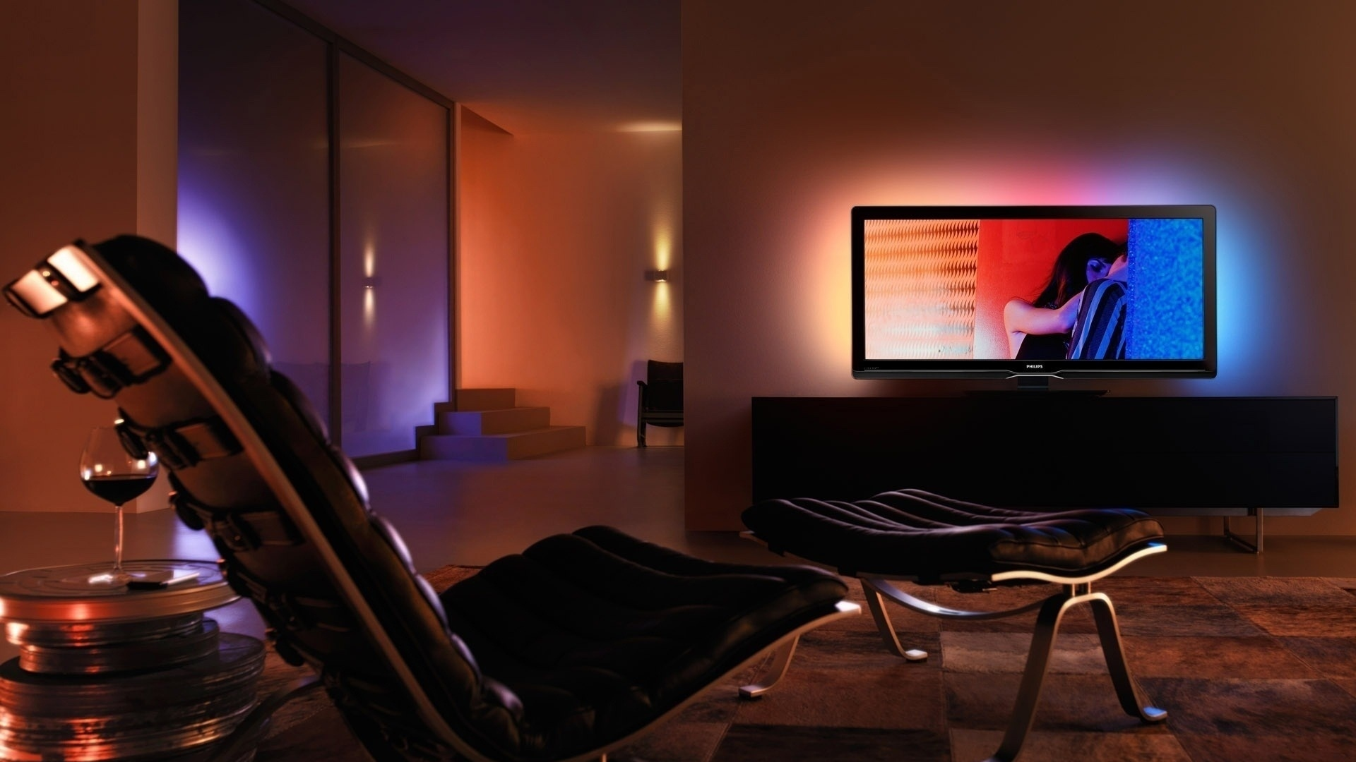 Living room interior design hd wall - Home Theater Wallpaper For Desktop Wallpapersafari
